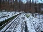 stuttgart/6322/die-strecke-der-standseilbahn-am-22112008 Die Strecke der Standseilbahn am 22.11.2008